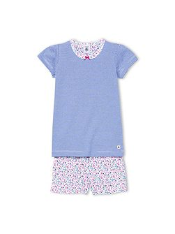 Girls Cotton Milleraies Short Pyjama
