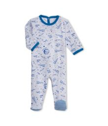 Baby Boys Cotton Sleepsuit