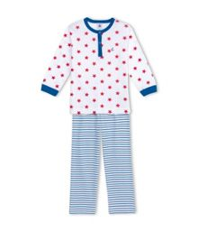 Boys Cotton Star Print Pyjama
