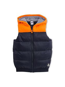 Boys Sleeveless Padded Jacket