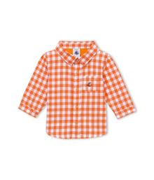 Baby Boys Gingham Check Shirt