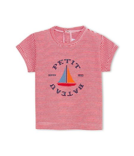 Petit Bateau Baby Boys Milleraies Striped T-Shirt