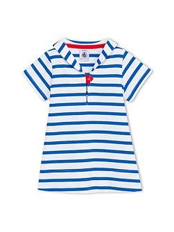 Baby Girls Breton Stripe Dress