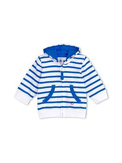 Baby Boys Zip-Up, Hooded Sweatshirt