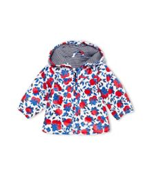 Petit Bateau Baby Girls Lemons Print Raincoat