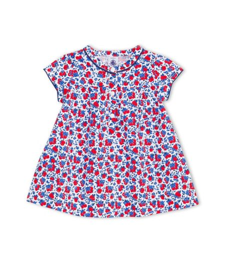 Petit Bateau Baby Girls Lemons Print Dress
