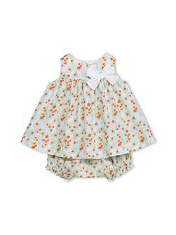 Baby Girls Bloomers And Dress Set