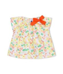 Baby Girls Floral Print Blouse