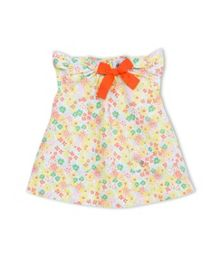 Petit Bateau Baby Girls  Floral Print Dress