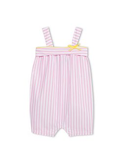 Baby Girls Striped Poplin Shortie