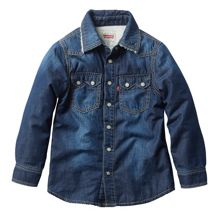 Levi's Boys long sleeved overshirt