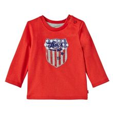 Levi's Baby Boys America Cotton T-Shirt