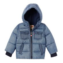 Levi's Boys Denim Look Padded Jacket
