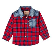 Levi's Boys long-sleeved shirt
