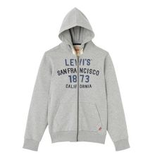 Levi's Boys Cotton Zip-Up Hoodie