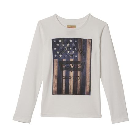 Levi's Boys Cotton USA T-Shirt