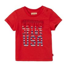 Levi's Boys Short-Sleeve USA T-Shirt