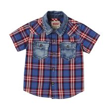 Levi's Boys Short-Sleeve Barsto Shirt