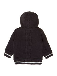 Baby boys knitted long sleeve cardigan