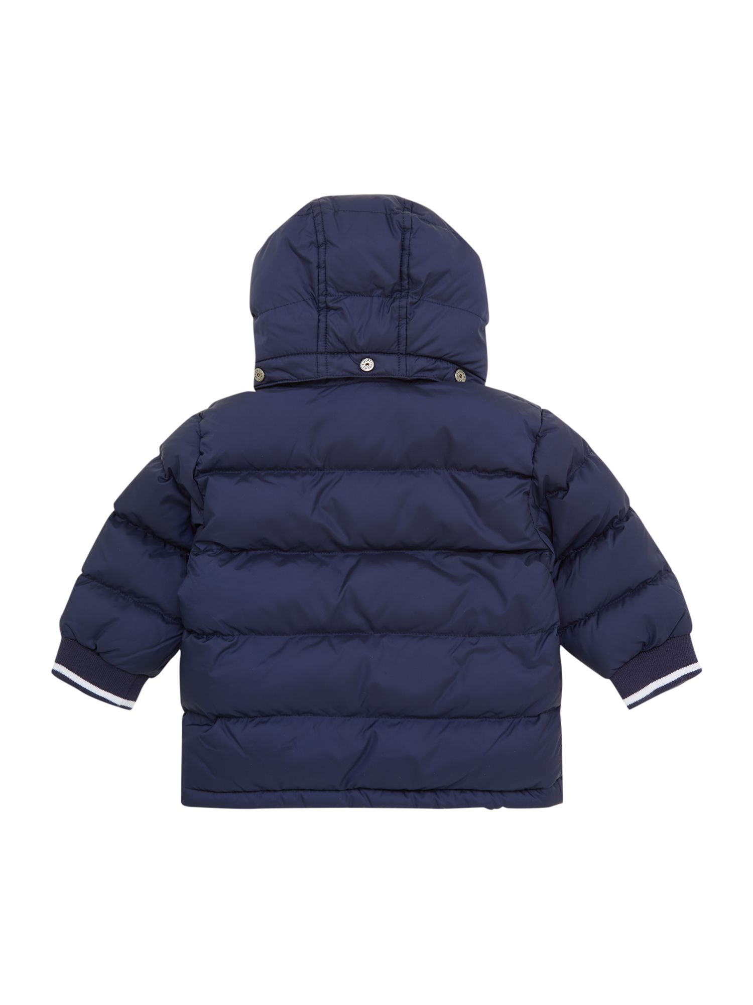 Boys long sleeve down jacket