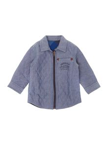Baby boys reversible overshirt