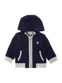 Baby boys fleece long sleeve cardigan