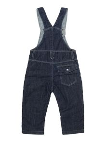Baby boys denim dungarees