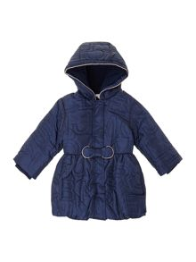 Baby girls long sleeve down jacket