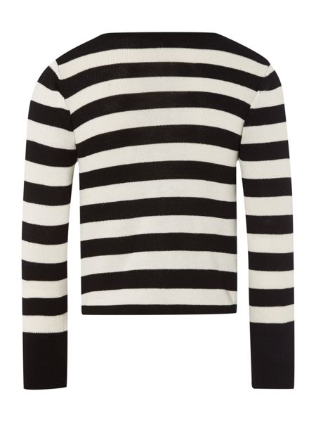 DKNY Girls knitted long sleeved cardigan