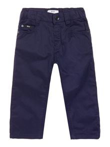 Baby boys twill trousers