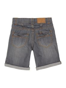 Boys denim bermuda shorts