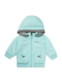 Baby boys reversible hooded jacket