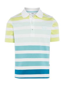 Boys short sleeved polo shirt
