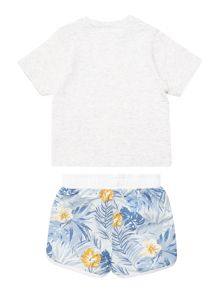 Baby boys set of tee-shirt and short