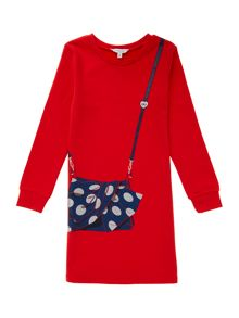 Little Marc Jacobs Girls fleece dress