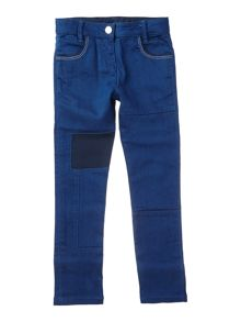 Little Marc Jacobs Girls denim trousers