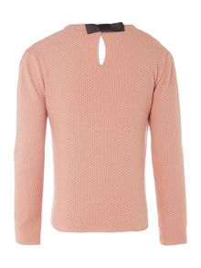 Carrement Beau Girls knitted sweater