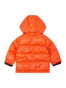 Baby boys hooded puffer jacket