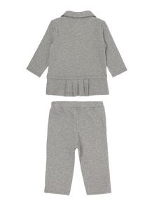 Little Marc Jacobs Baby girls fleece tracksuit set