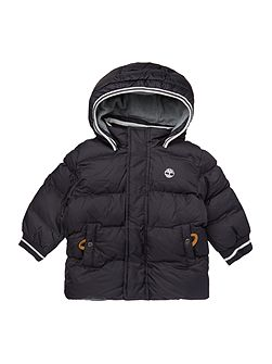 Timberland Baby boys hooded puffer jacket
