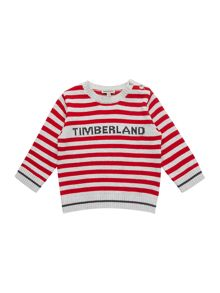 Timberland Baby boys striped knitted sweater