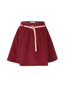 Girls velvet skirt