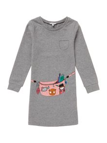 Girls fleece dress