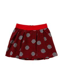 Little Marc Jacobs Girls printed skirt