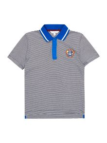 Little Marc Jacobs Boys striped polo shirt