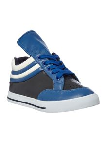 Boys leather sneakers