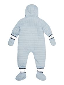 Baby boys fleece snowsuit