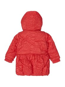 Little Marc Jacobs Baby girls hooded puffer jacket