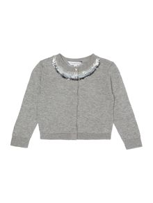 Little Marc Jacobs Baby girls knitted cardigan