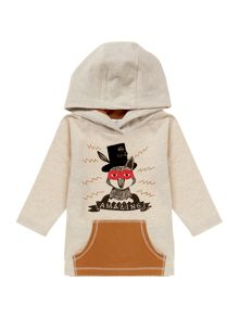 Little Marc Jacobs Baby boys hooded t-shirt